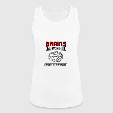 Brain - brain - Women's Breathable Tank Top
