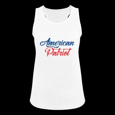 American Patriot - Frauen Tank Top atmungsaktiv