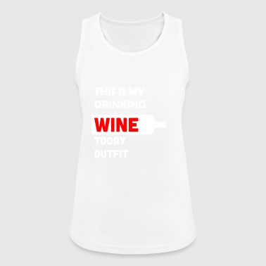 Wine lovers wine red wine gift - Women's Breathable Tank Top
