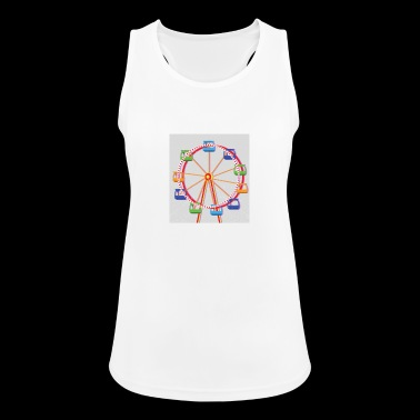 Amusement park ferris wheel gift idea - Women's Breathable Tank Top