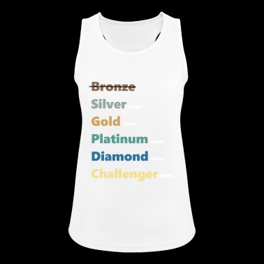 Ranking Elo Silver Silver - Women's Breathable Tank Top