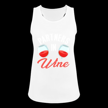 Partners In Wine - Women's Breathable Tank Top