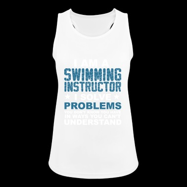 I am a swimming instructor .. - gift - Women's Breathable Tank Top