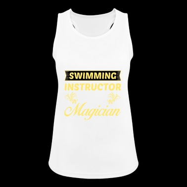 I am a swimming instructor and no .. - gift - Women's Breathable Tank Top