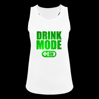 DRINK MODE ON - Women's Breathable Tank Top