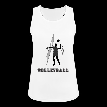 volley ball - Women's Breathable Tank Top
