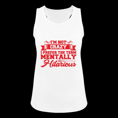 Mentally Hilarious - Women's Breathable Tank Top