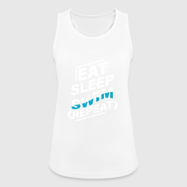 Swimmer Swimming T-Shirt Gift Swimming Instructor - Women's Breathable Tank Top