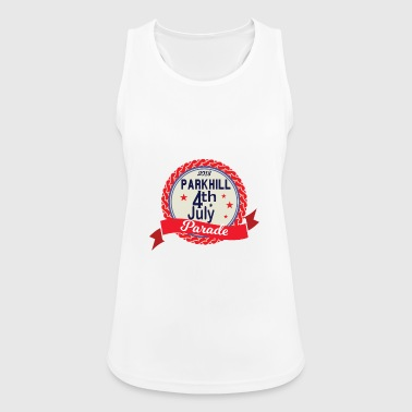 4th of July Parade United States - Women's Breathable Tank Top