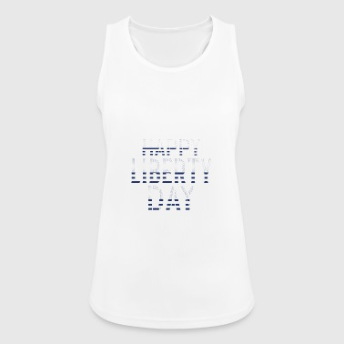 Happy Liberty Day 4th of July 4th of July - Women's Breathable Tank Top