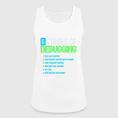 Stages of debugging - Women's Breathable Tank Top