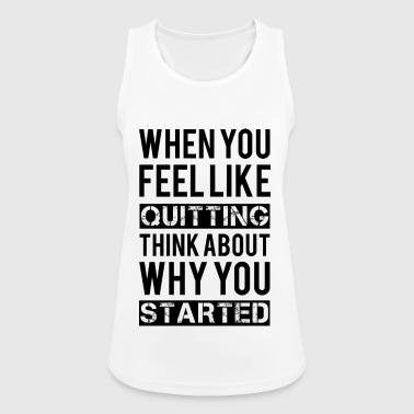 Motivation - Tank top damski oddychający