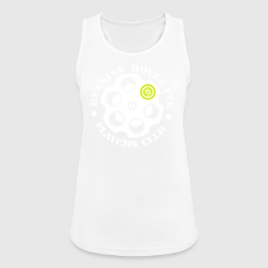 Russian Roulette Players Club -Logo 4 Black - Women's Breathable Tank Top
