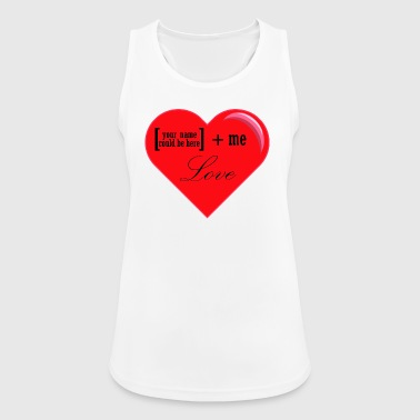 You + Me = Love - Women's Breathable Tank Top