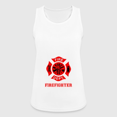 Firefighters parents - Women's Breathable Tank Top