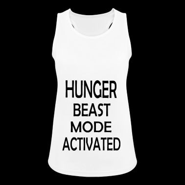 HUNGER BEAST MODE ACTIVATED - Pustende singlet for kvinner