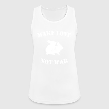 MAKE LOVE NOT WAR - Women's Breathable Tank Top