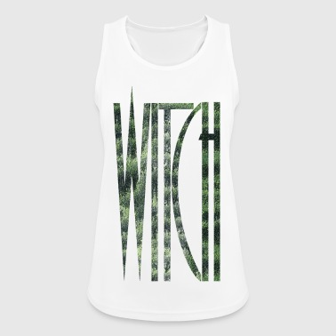 WITCH Witch Grunge Witch font Goth Gothic - Women's Breathable Tank Top