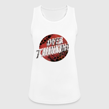 Over Thinking - Women's Breathable Tank Top