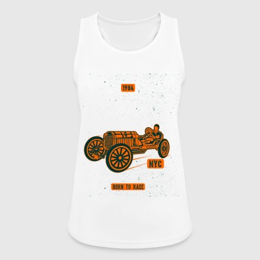 SPEED RACE 1984 - Vintage Racing Shirt Design - Pustende singlet for kvinner