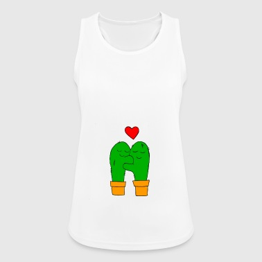 cactus in love - Women's Breathable Tank Top