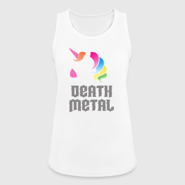 Death Metal Unicorn - Frauen Tank Top atmungsaktiv