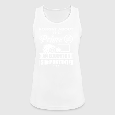 Educator FORGET PRINCE education - Women's Breathable Tank Top