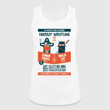 Fantasy wrestling - Women's Breathable Tank Top