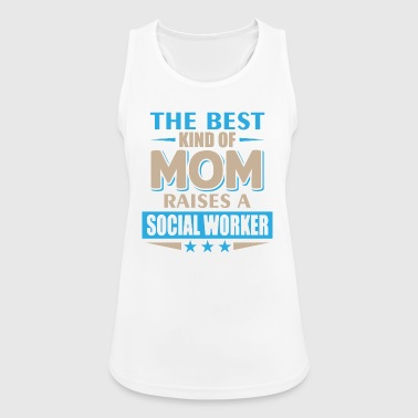 Social Worker mama - Mother - Tank top damski oddychający