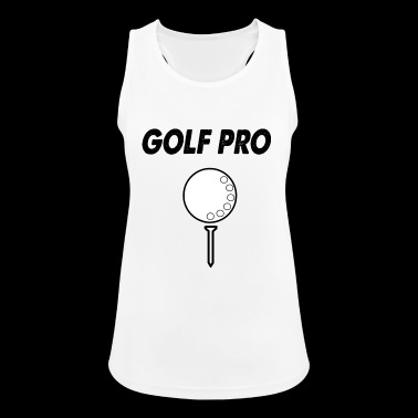 golf pro - Pustende singlet for kvinner