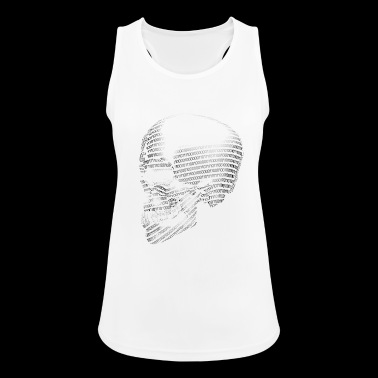 BINARY SKULL - BINARY CRANE - Binary Skull - Women's Breathable Tank Top