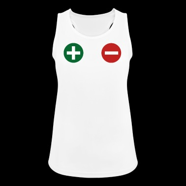 plus minus - Frauen Tank Top atmungsaktiv