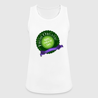 fresh organic 100% natural eco friendly girl - Women's Breathable Tank Top