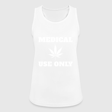 Medical cannabis Medical use only - Women's Breathable Tank Top