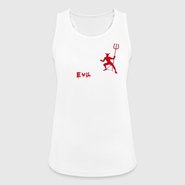 Evilution - Pustende singlet for kvinner