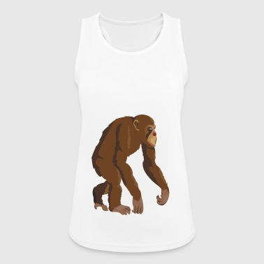 Chimpanzee! - Women's Breathable Tank Top