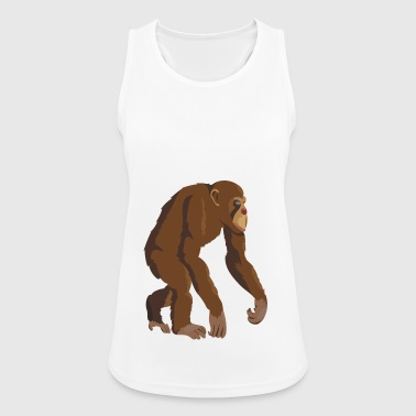 Chimpanzee - Women's Breathable Tank Top