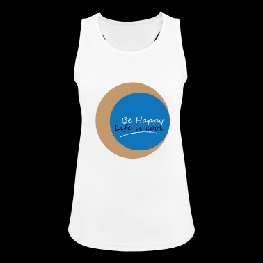 Be Happy - Women's Breathable Tank Top