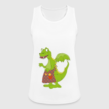 Green Cuisine Dragon Dino Gift Idea - Women's Breathable Tank Top