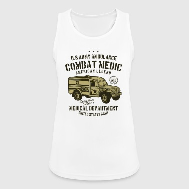 Medical Department Combat Medic - Women's Breathable Tank Top