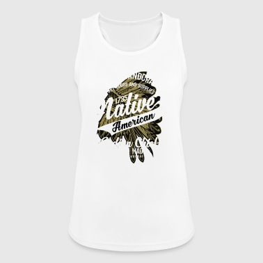 Native American Indian Chief - Women's Breathable Tank Top