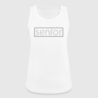 senior - Pustende singlet for kvinner