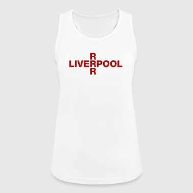Liverpool United Kingdom Flag Shirt - Liverpool - Women's Breathable Tank Top