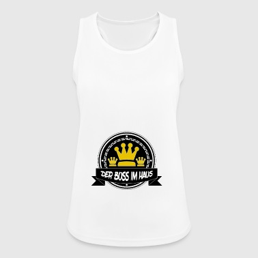The boss in the house - Women's Breathable Tank Top