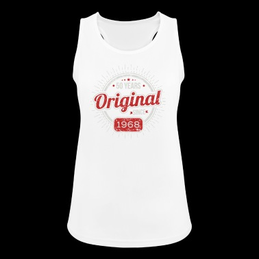 50th Birthday / Years: Original since 1968 Gift - Women's Breathable Tank Top