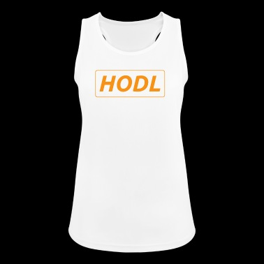 HODL - just a simple reminder - Women's Breathable Tank Top