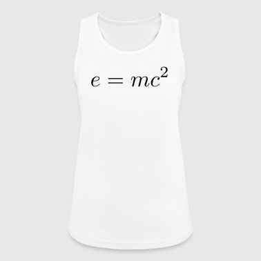E = mc² - Women's Breathable Tank Top
