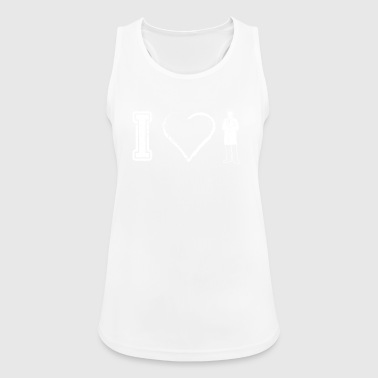 I love doctor doctor doctors doctor physician - Women's Breathable Tank Top