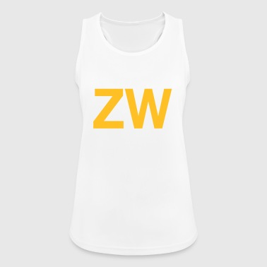 ZW Initials - Women's Breathable Tank Top