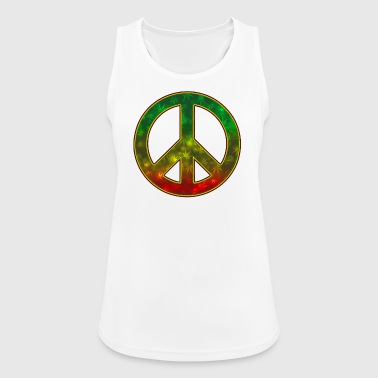Rasta Peace - Women's Breathable Tank Top
